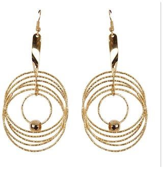 Grand Jewels Stylish Wire Earring