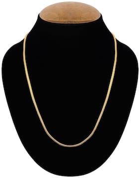 styylo fashion exclusive golden chain necklace set