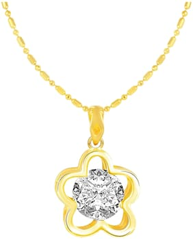 Alloy Gold Antique Chain With Pendant