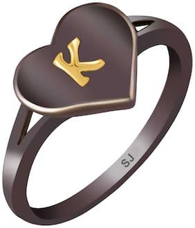 Black Brass Ring