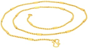 Sukkhi Adorable Gold Plated Unisex Cable chain