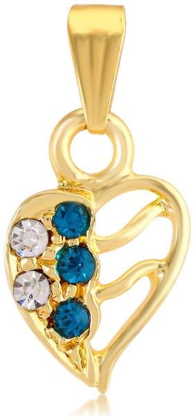 Sukkhi Appealing Australian Diamond Gold Plated Pendant for Women