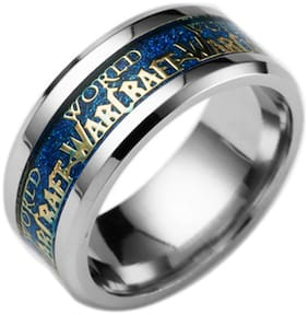 Sukkhi Astonish World of Warcraft Rhodium Plated Gents Ring for Men