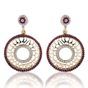 Sukkhi Bewitching Gold Plated AD Earring For Women (Pack Of 5)