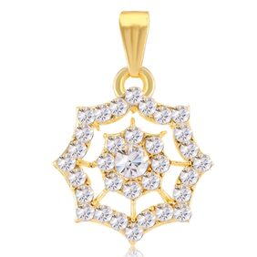 Sukkhi Brilliant AD Gold Plated Pendant for Women