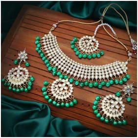 Alloy Gold Antique Necklace