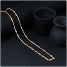 Sukkhi Charming Gold Plated Wedding Jewellery Rope Chain for Men