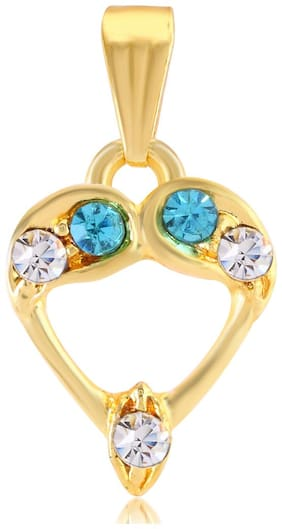 Sukkhi Cluster AD Studded Gold Plated Pendant