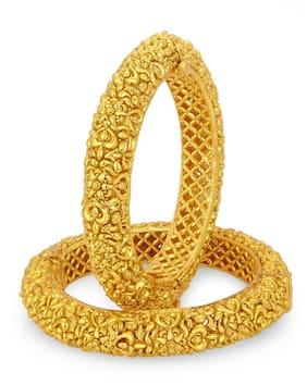 Sukkhi Dazzling Gold Plated Bangle For Women