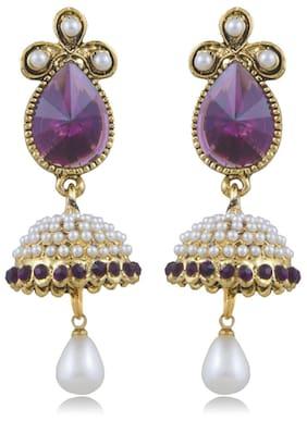 Sukkhi Fabulous Gold Plated Jhumki Earring For Women