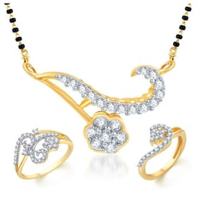 Sukkhi Gold Alloy Bridal Set For Women