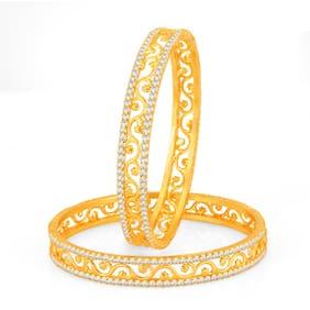 Sukkhi Golden Bangles (Pack Of 10)