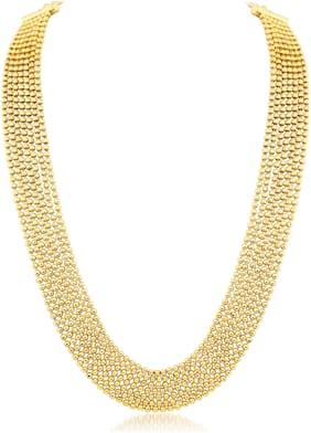 Sukkhi Gold Necklace Set For Women