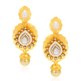 Sukkhi Intricately Gold Plated AD Earring For Women (Pack Of 5)
