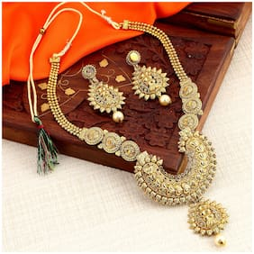 Sukkhi Marvellous Gold Plated Necklace Set