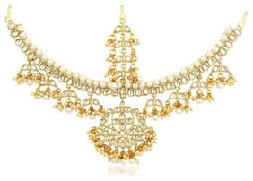 Sukkhi Ritzy Gold Plated Damini Mathapatthi for women
