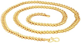 Sukkhi Sparkling Gold Plated Unisex chain
