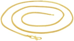 Sukkhi Sparkling Gold Plated Unisex Snake Chain