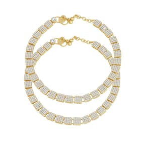 Sukkhi Traditional Gold Plated Anklet for women