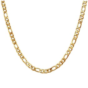 Swag Gold Plated Stainless Steel Chain For Men & Boys