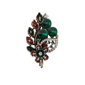 Taj Pearl Designer Wedding wear Brooch