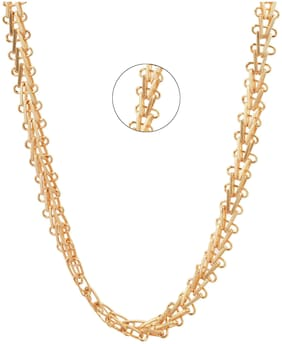 Three Shades 22K Golden Latest Gold-plated Chain For Men & Boys