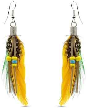Three Shades Stylish Fancy Party and Daily Wear Jewellery Earring for Girls & Women;Hot & Trendy Earrings 835