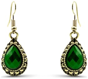 Three Shades Stylish Fancy Party and Daily Wear Jewellery Earring for Girls & Women;Hot & Trendy Earrings 863