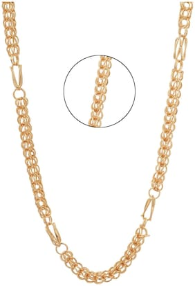 Three Shades Gold Chain For Men & Boys