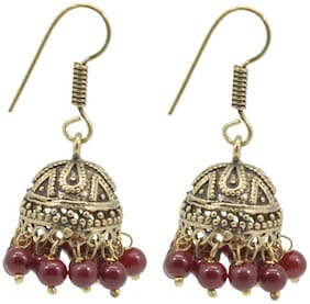 Three Shades Stylish Fancy Party and Daily Wear Jewellery Earring for Girls & Women;Hot & Trendy Earrings 818