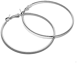 Three Shades Hoopers Hoop Earrings For Girls & Earrings Women Hoop