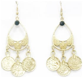 Traditional golden coin hangings (Set Of 5)