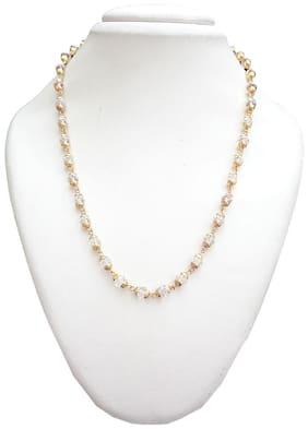 Trendeela.Com Fiona Yellow Gold Plated Designer Bead Chain For Women