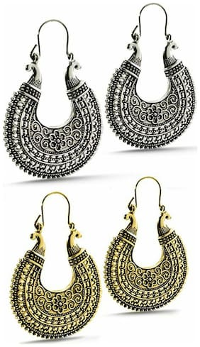 Urbanela German silver Earrings Combo : Designer earrings ADER201