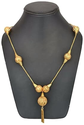 Urbanela Gold plated chain style necklace : ADTJ09