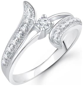 Vighnaharta Silver Ring