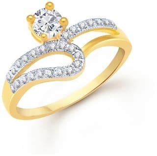 VK Jewels Golden Ring
