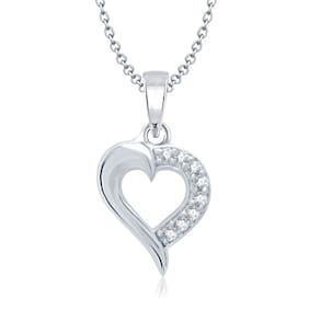 VK Jewels Silver Pendant (Pack Of 5)