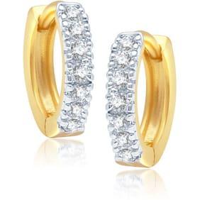 VK Jewels White Earrings (Pack Of 5)