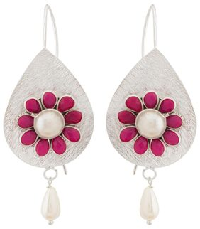 Voylla Drop Pacchi Earrings from Floret Collection For Women