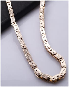 Dare by Voylla Motorcycle Diaries Rose Gold Bike Chain