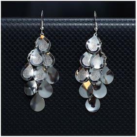Imported Light Weight Silver Dangler Earrings