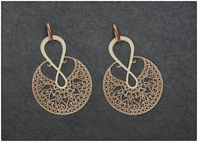 Imported Gold Filigree Earrings