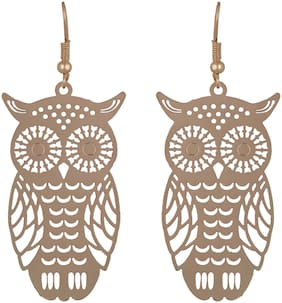 Imported Funky Owl Earring