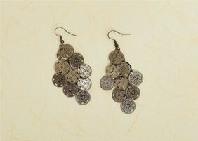 Oxidised Light Weight Dangler Earrings