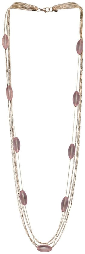 Fashionable Long Stone Necklace For Women And Girls