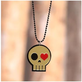 Imported Skull Pendant with Long Chain