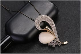 Imported Rosegold Crystal Pendant