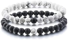 YouBella Couple Jewellery Beaded Bracelet for Women (Multi-Colour)(YBBN_91578)
