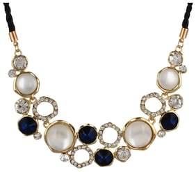 YouBella Presents L'amore Collection Statement Jewellery Necklace for Girls and Women